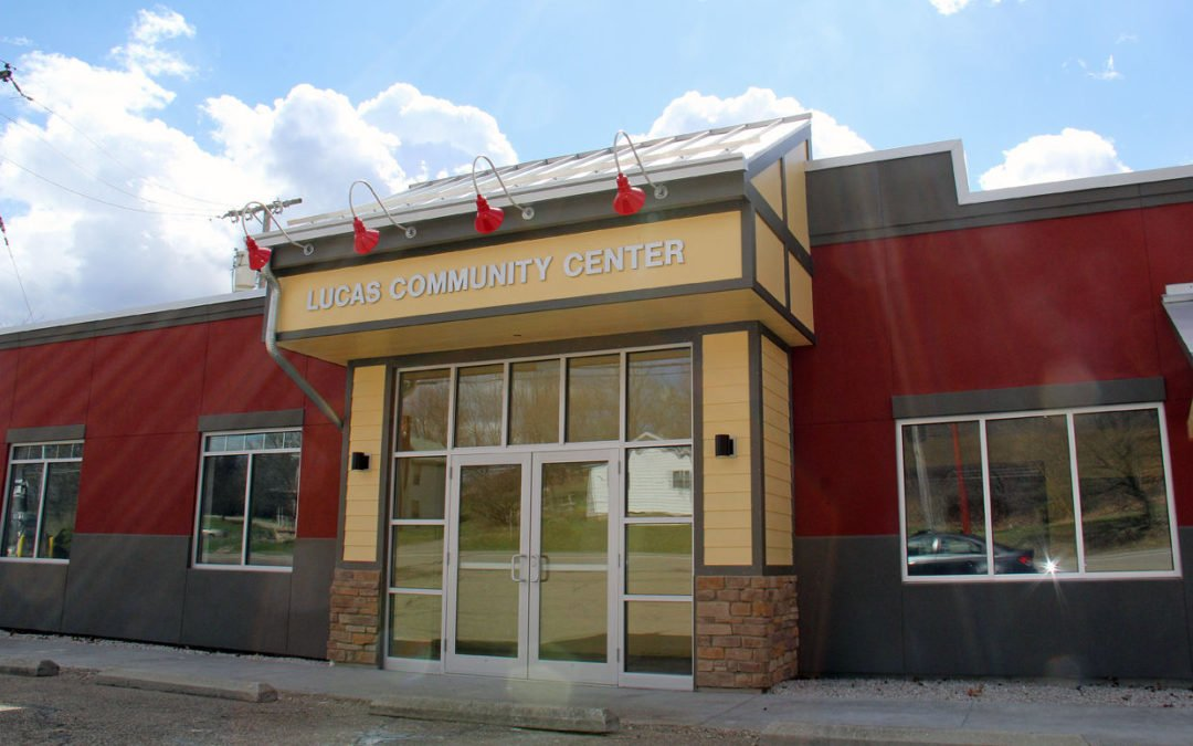Lucas Community Center nears completion for open house