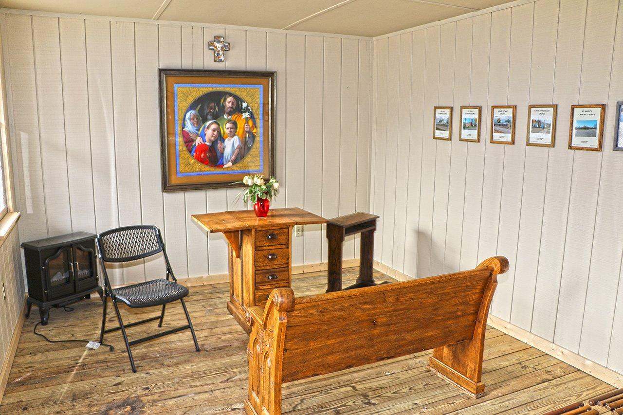 House of Prayer interior